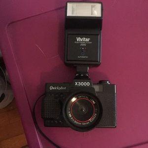 Other - Vintage flash camera